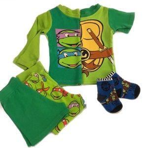 NICKELODEON Teenage Mutant Ninja Turtles PJ Set 4T